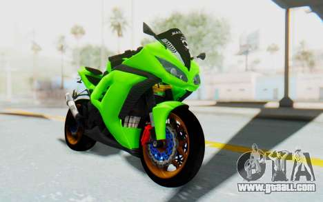Kawasaki Ninja 250 Abs Streetrace for GTA San Andreas