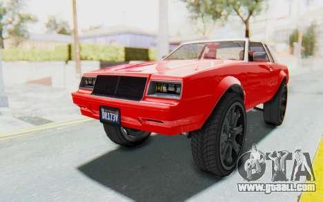 GTA 5 Willard Faction Custom Donk v2 IVF for GTA San Andreas right view