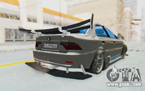 Ikco Soren Full Sport for GTA San Andreas back left view