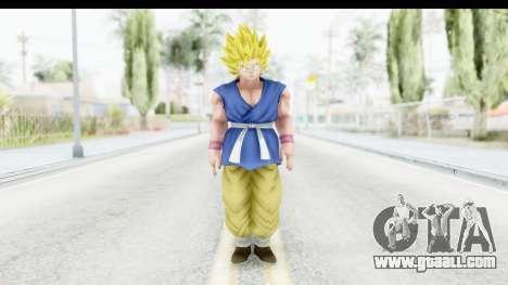 Dragon Ball Xenoverse Goku GT Adult SSJ2 for GTA San Andreas second screenshot