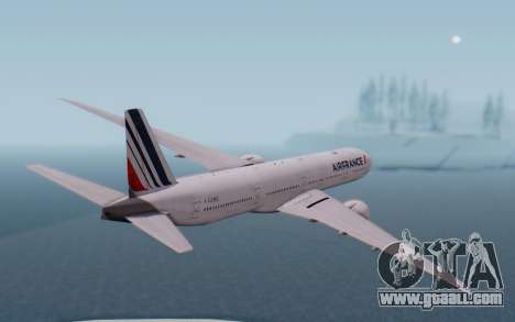 Boeing 777-300ER France Air for GTA San Andreas right view
