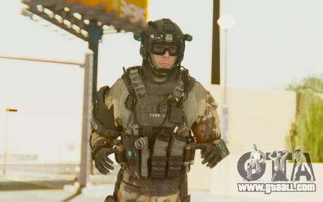 Federation Elite Assault Woodland-Flora for GTA San Andreas