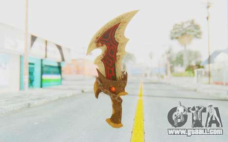 Blade of Athena for GTA San Andreas second screenshot