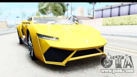GTA 5 Pegassi Reaper v2 IVF for GTA San Andreas back view