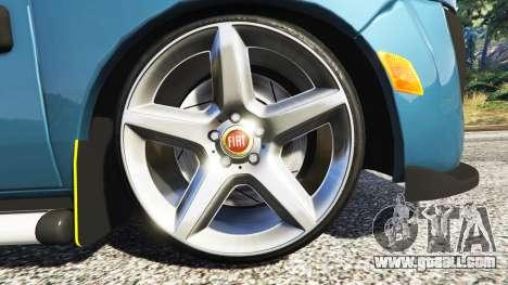 GTA 5 Fiat Doblo rear right side view