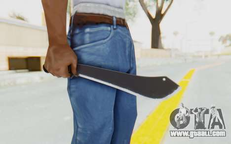 GTA 5 Vom Feuer Machete for GTA San Andreas