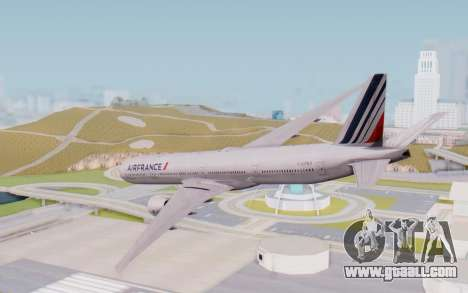 Boeing 777-300ER France Air for GTA San Andreas left view