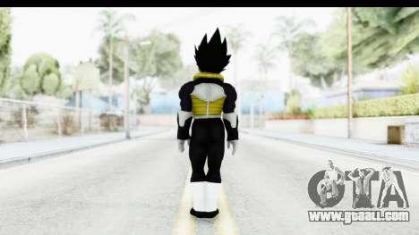 Dragon Ball Xenoverse Vegeta Timebreaker for GTA San Andreas third screenshot