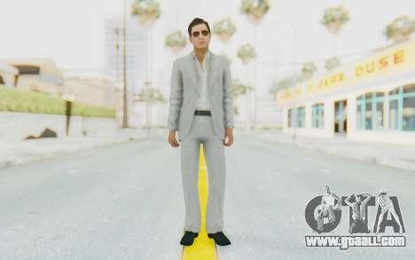 Mafia 2 - Vito Scaletta Madman Suit White for GTA San Andreas second screenshot