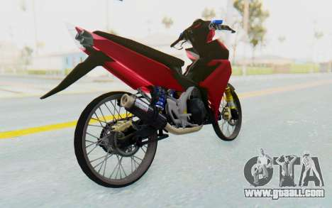 Yamaha Jupiter MX 135 Lock Style for GTA San Andreas right view