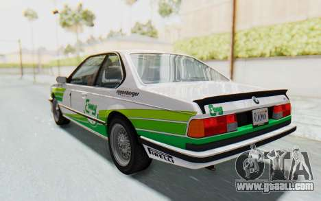 BMW M635 CSi (E24) 1984 HQLM PJ2 for GTA San Andreas wheels