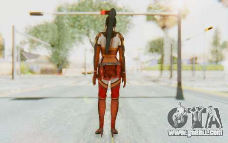 Dynasty Warriors 7 - Lian Shi v1 for GTA San Andreas third screenshot