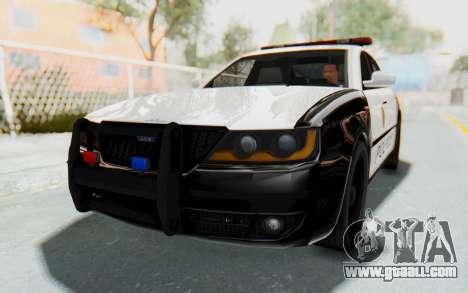 ASYM Desanne XT Pursuit v3 for GTA San Andreas right view