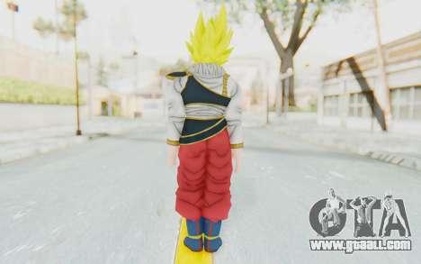 Dragon Ball Xenoverse Goku Yardrat Clothes SSJ for GTA San Andreas third screenshot