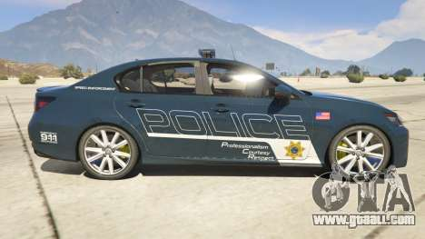 Lexus GS 350 Hot Pursuit Police