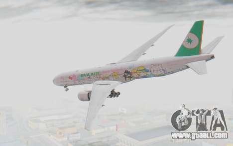 Boeing 777-300ER Eva Air v1 for GTA San Andreas left view
