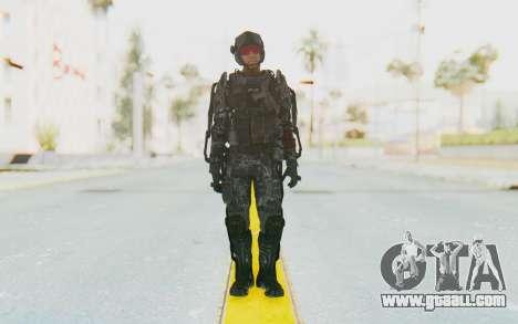 CoD Advanced Warfare ATLAS Soldier 2 for GTA San Andreas second screenshot