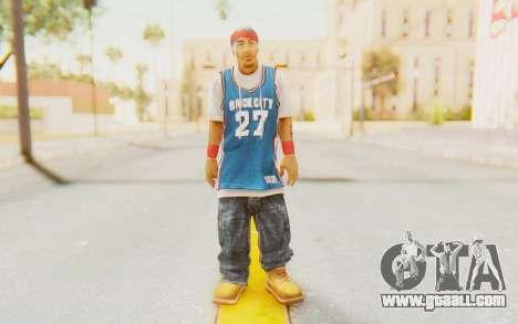 Def Jam Fight For New York - Redman for GTA San Andreas second screenshot