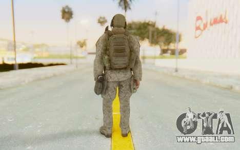 CoD MW2 Ghost Model v1 for GTA San Andreas third screenshot