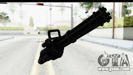 GTA 5 Coil Minigun v2 for GTA San Andreas second screenshot