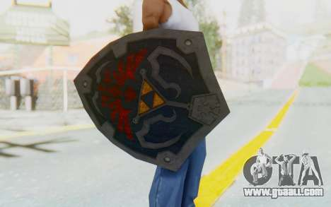 Hylian Shield HD from The Legend of Zelda for GTA San Andreas third screenshot