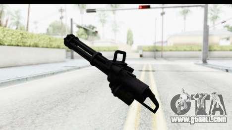 GTA 5 Coil Minigun v2 for GTA San Andreas third screenshot