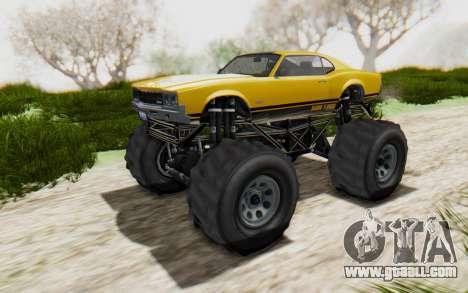Declasse Sabre Turbo XL for GTA San Andreas