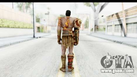 God of War 3 - Deimos for GTA San Andreas third screenshot