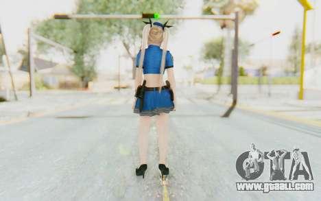 DoA 5: LR - Marie Rose Police v2 for GTA San Andreas third screenshot
