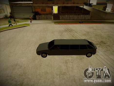 VAZ 2114 Devastadora HQ model for GTA San Andreas back view