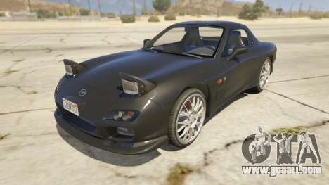 2002 Mazda RX-7 Spirit R Type for GTA 5