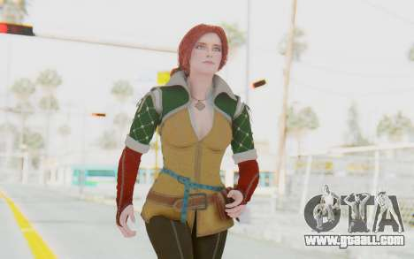 The Witcher 3 - Triss Merigold Default for GTA San Andreas