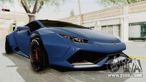 Lamborghini Huracan Stance Style for GTA San Andreas