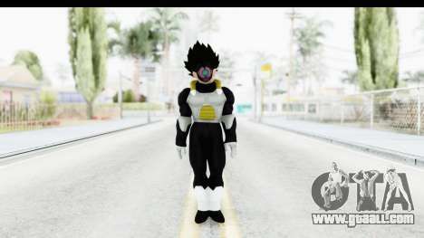 Dragon Ball Xenoverse Vegeta Timebreaker for GTA San Andreas second screenshot
