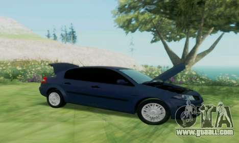 Renault Megane 2004 for GTA San Andreas right view