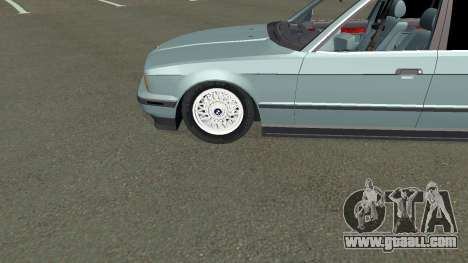 BMW 535i Gang for GTA San Andreas inner view