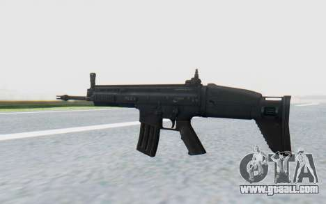 SCAR-L for GTA San Andreas third screenshot