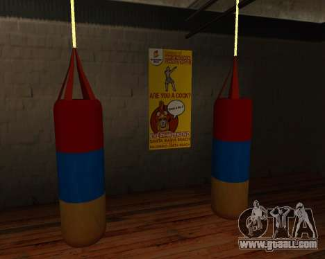 Pear Boxing style of the Armenian flag for GTA San Andreas