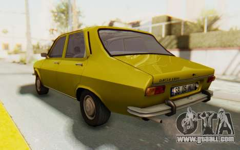 Dacia 1300 Stock for GTA San Andreas left view