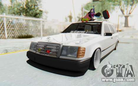 Mercedes-Benz W124 Stance Works for GTA San Andreas right view