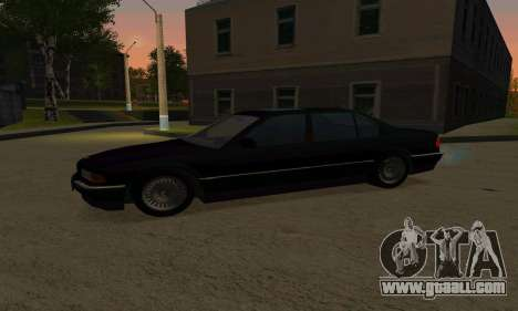 BMW 740i E38 for GTA San Andreas left view