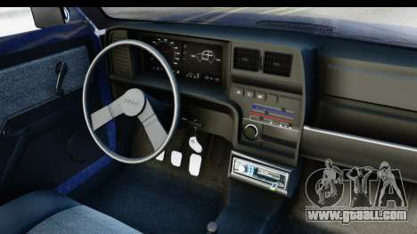 Fiat 147 Spazio TR Stock for GTA San Andreas inner view