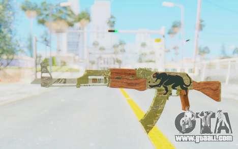 CS:GO - AK-47 Jaguar for GTA San Andreas
