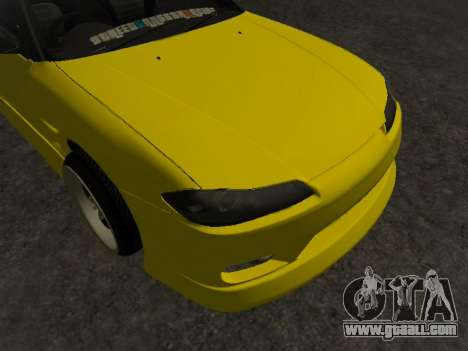Nissan Silvia S15 for GTA San Andreas bottom view