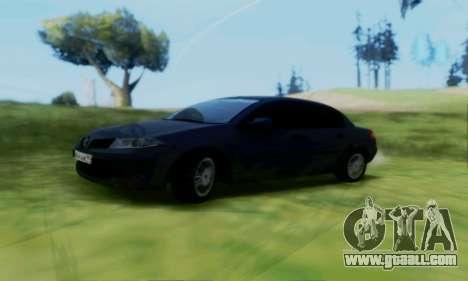 Renault Megane 2004 for GTA San Andreas