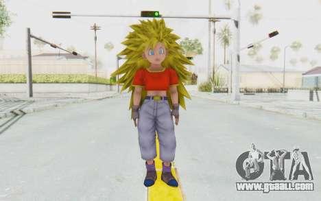 Dragon Ball Xenoverse Pan SSJ3 for GTA San Andreas second screenshot
