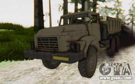 MGSV Phantom Pain Zi-GRA 6T Truck for GTA San Andreas
