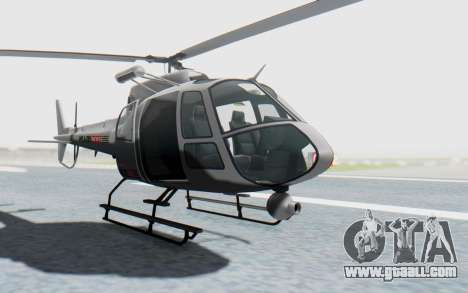 GTA 5 News Chopper Style Weazel News for GTA San Andreas right view