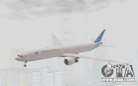Boeing 777-300ER Garuda Indonesia for GTA San Andreas