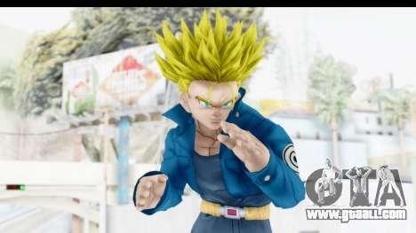 Dragon Ball Xenoverse Future Trunks SSJ1 for GTA San Andreas